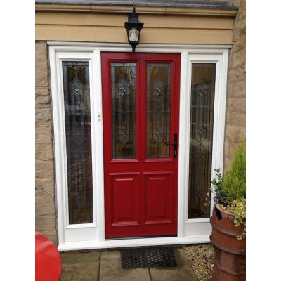 Accoya door and vestibule frame set...