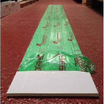 Plastic solid soffit - Width: ...