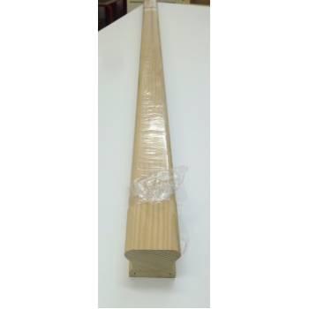 Hemlock Handrail 4.2m HDR High Profile Richard Burbidge 41mm Groove Wooden Timber HDR4200/41