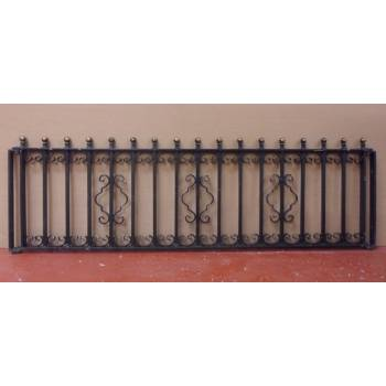 Galvanised Steel Iron Metal Railings