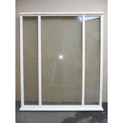 Wooden Timber Window Direct Glazed 1800x2095mm NAT099...