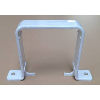 White Flush Bracket