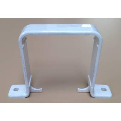 White flush bracket...