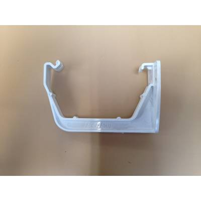 White fascia bracket...
