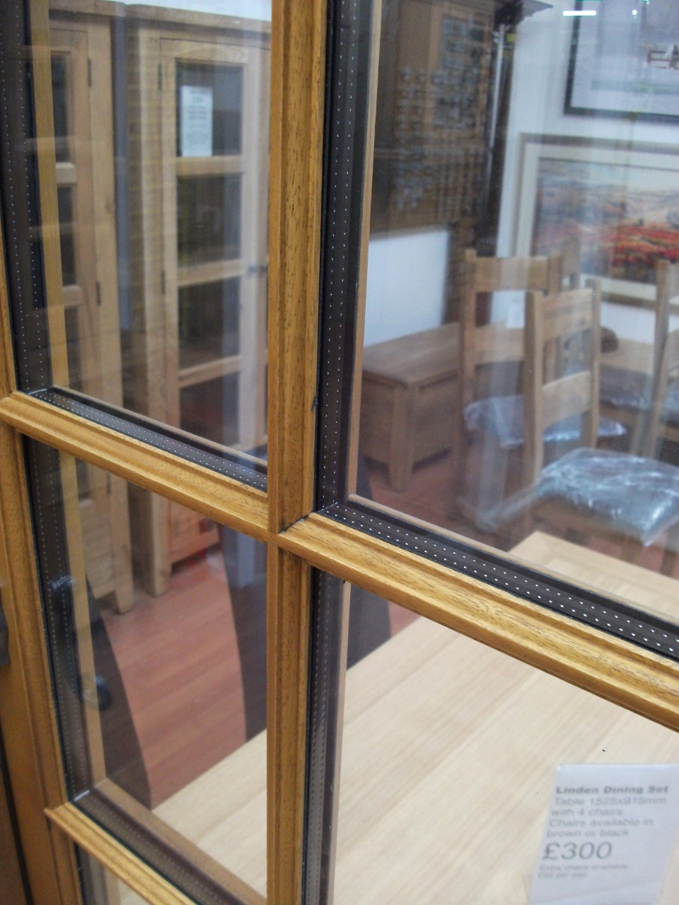 Stick On Glazing Bar Windows